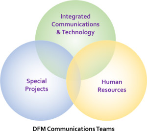 DFM Communications Teams