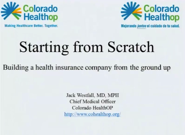 Levitt Lecture - Dr. Jack Westfall